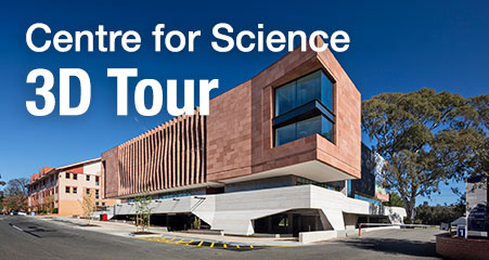 Walk through the Sir Zelman Cowan Centre for Science