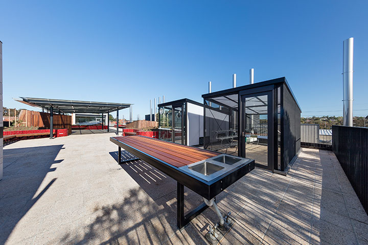 Rooftop Teaching and Learning spaces